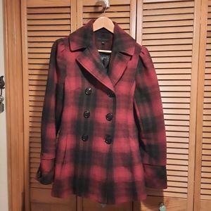 Steve Madden Plaid Wool mixt Jacket
